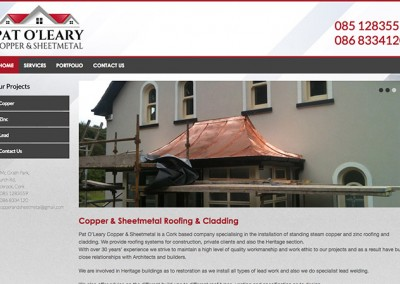 Copper & Sheetmetal Roofing & Cladding