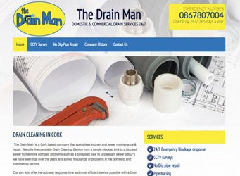 The Drain Man Cork