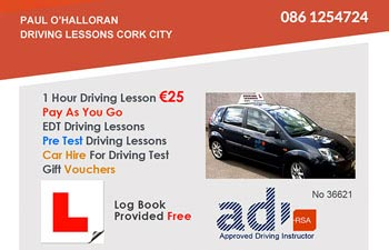 Driving Lessons Cork City