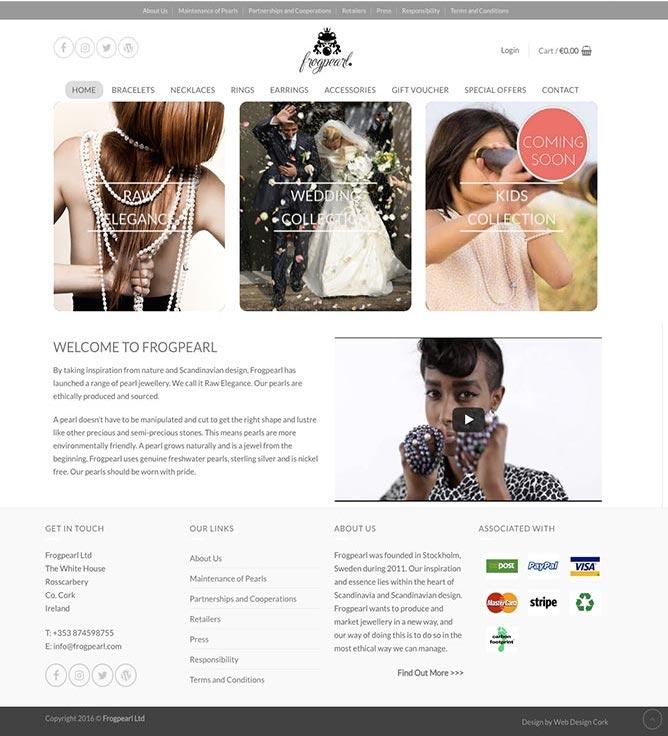 Frogpearl Online shop